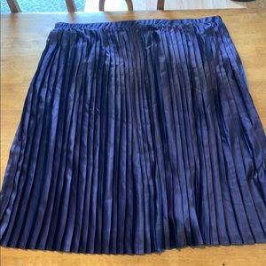 Midi Purple Skirt